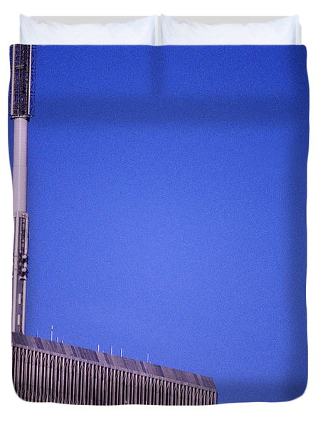 Tower One Duvet Cover by Jon Neidert