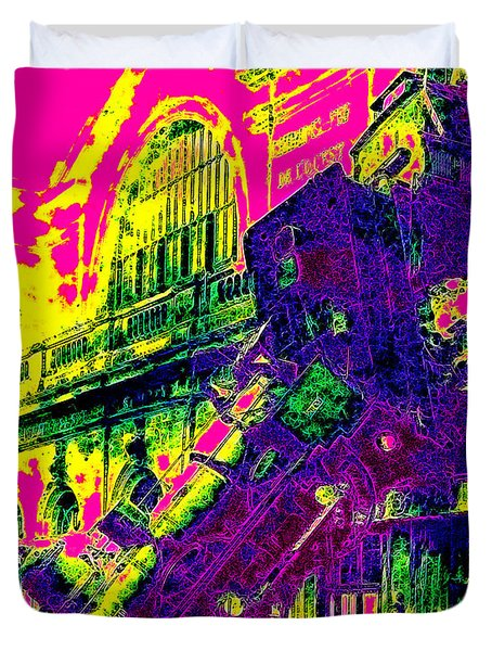Train Wreck At Montparnasse Station 20130525 Duvet Cover by Wingsdomain Art and Photography