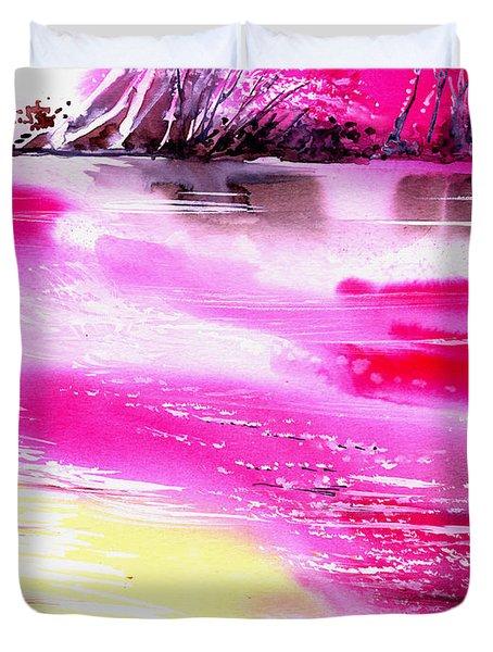 Tranquil 2 Duvet Cover by Anil Nene