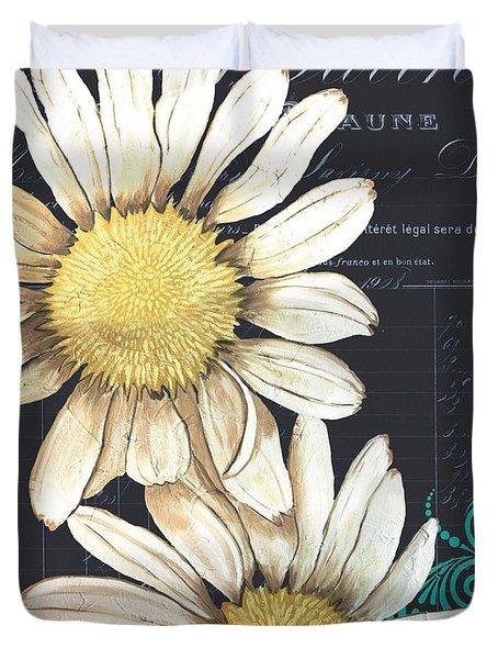 Tranquil Daisy 1 Duvet Cover by Debbie DeWitt