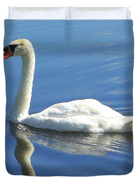 Tranquility Duvet Cover by Frozen in Time Fine Art Photography