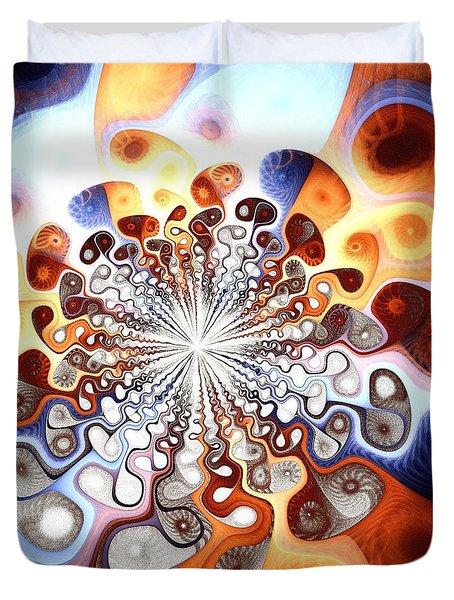 Transformation Duvet Cover by Anastasiya Malakhova