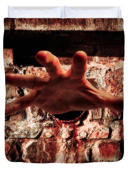 Trapped Duvet Cover by Wim Lanclus