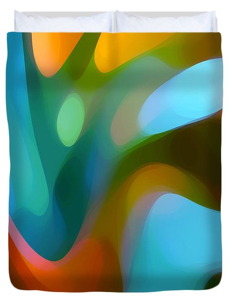 Tree Light 3 Duvet Cover by Amy Vangsgard