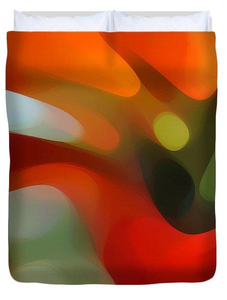 Tree Light 4 Duvet Cover by Amy Vangsgard