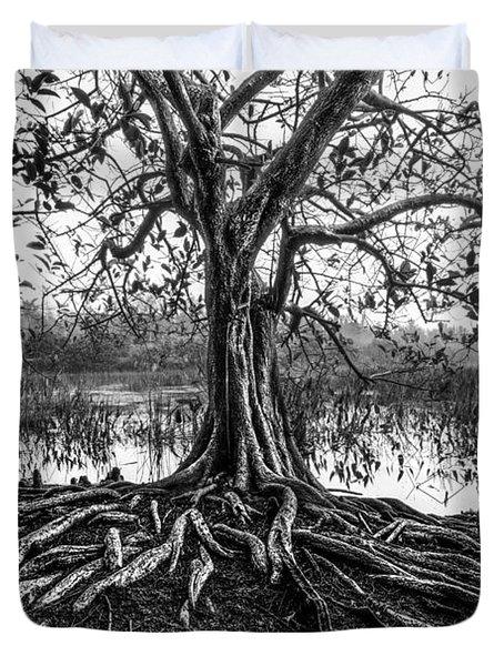 Tree Of Life Duvet Cover by Debra and Dave Vanderlaan