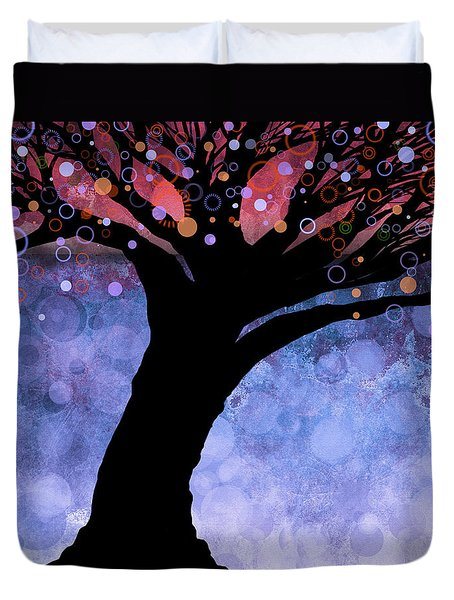 Tree Of Life Three Duvet Cover by Ann Powell