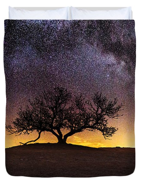 Tree of Wisdom Duvet Cover by Aaron J Groen