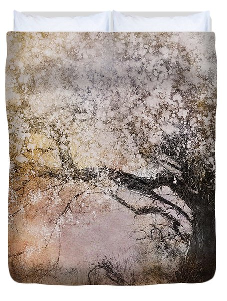 Tree Whispers Duvet Cover by Amy Weiss