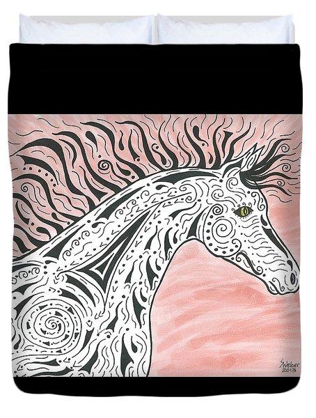 Tribal Spirit Wind Duvet Cover by Susie WEBER