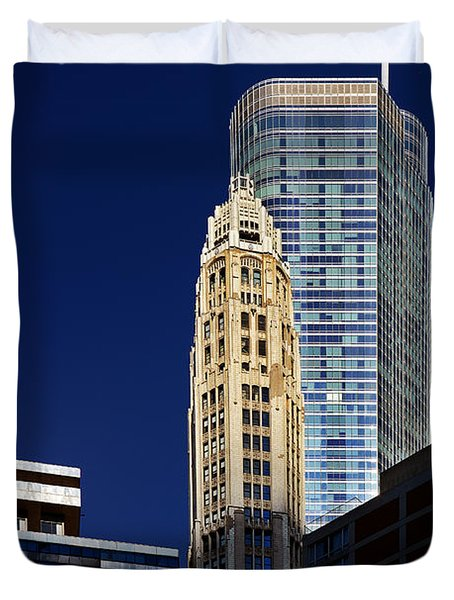 Trump International Hotel And Tower Chicago Duvet Cover by Christine Till