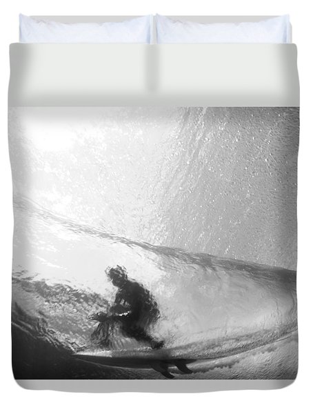 Tube Time Duvet Cover by Sean Davey