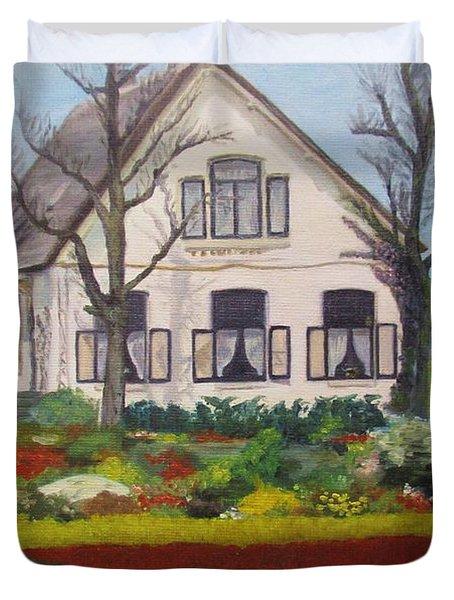 Tulip Cottage Duvet Cover by Martin Howard