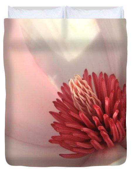 Tulip Tree Blossom Duvet Cover by Carol Groenen