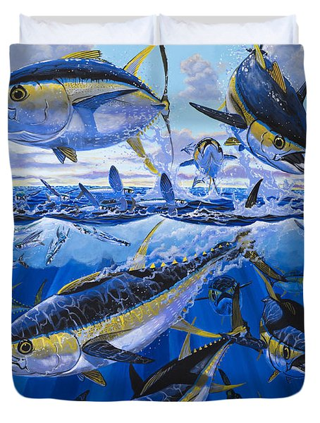 Tuna Rampage Off0018 Duvet Cover by Carey Chen