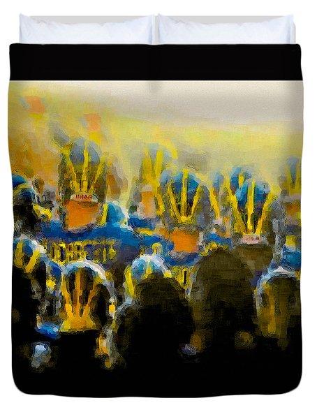 Tunnel Fever Special Duvet Cover by John Farr