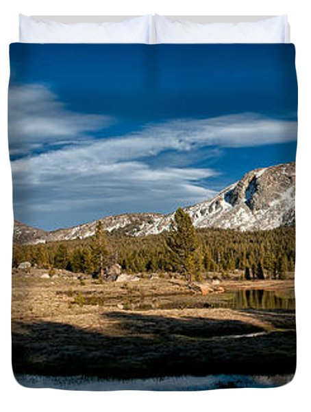 Tuolumne Meadows Duvet Cover by Cat Connor