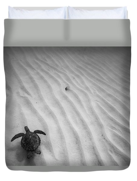 Turtle Ridge Duvet Cover by Sean Davey