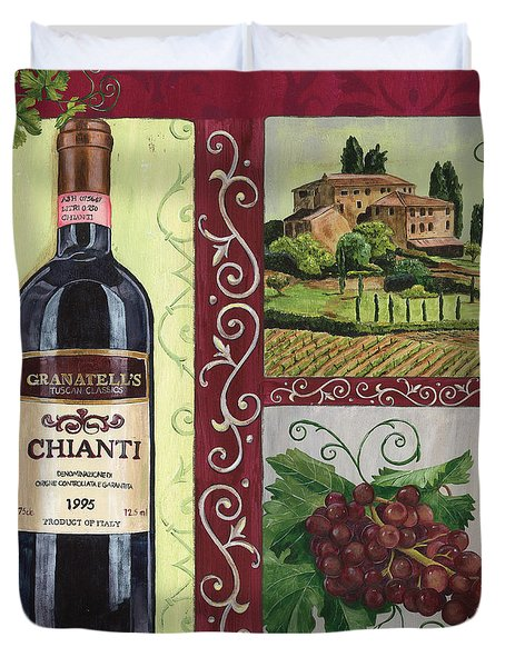 Tuscan Collage 1 Duvet Cover by Debbie DeWitt