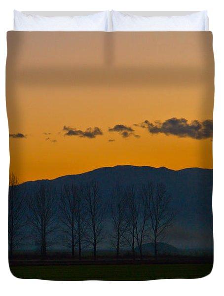 Twilight Mist Duvet Cover by Eti Reid
