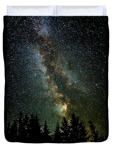 Twinkle Twinkle A Million Stars D1951 Duvet Cover by Wes and Dotty Weber