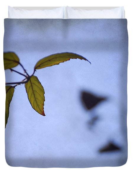 Two Monsters In The Shadows Duvet Cover by Guido Montanes Castillo