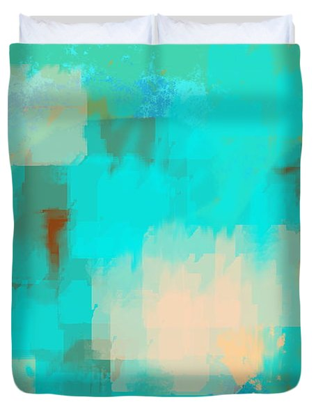 Two sided world Duvet Cover by Len YewHeng