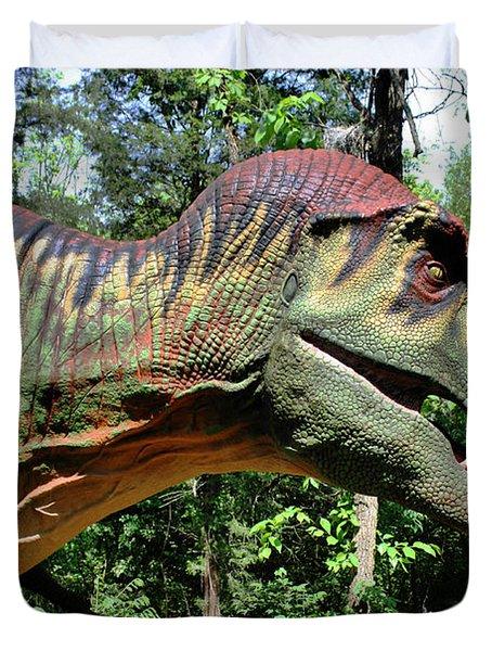 Tyrannosaurus Rex  T. Rex Duvet Cover by Kristin Elmquist