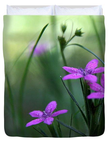 Ultra Violet Duvet Cover by Neal  Eslinger