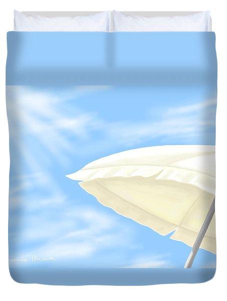 Umbrella Duvet Cover by Veronica Minozzi