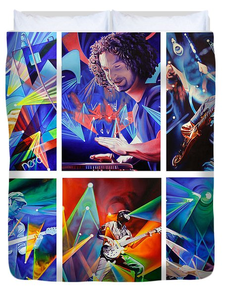 Umphrey's McGee Duvet Cover by Joshua Morton
