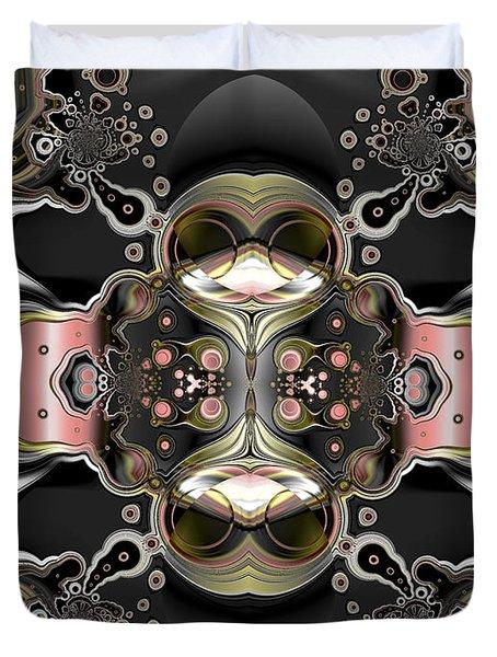Uncertain Committments Duvet Cover by Claude McCoy
