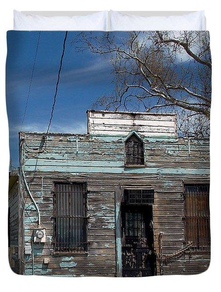 Undelivered Mail Duvet Cover by Skip Willits