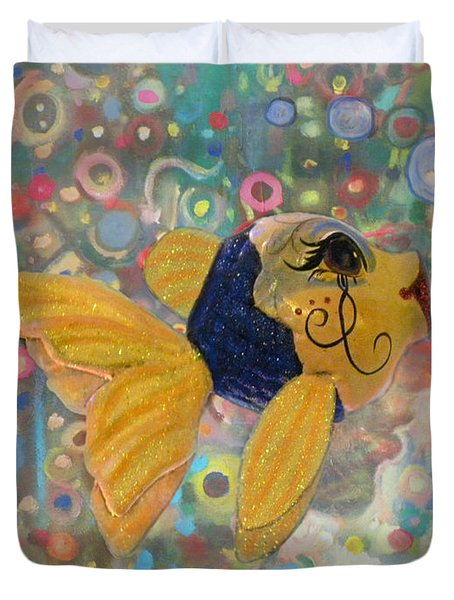 Under The Sea Party Duvet Cover by Sandi OReilly