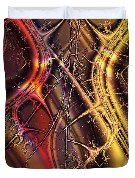 Under The Surface Duvet Cover by Anastasiya Malakhova