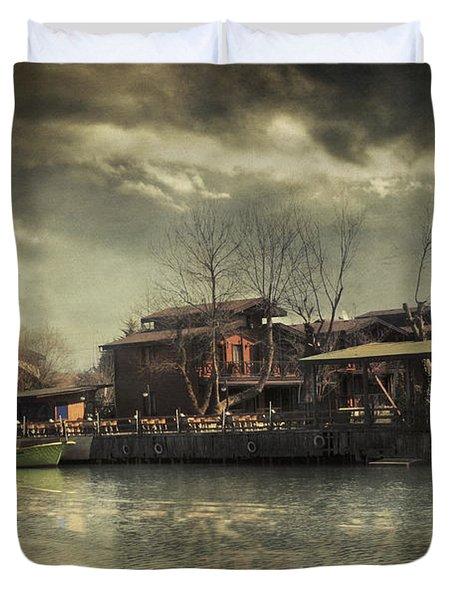 Une Belle Journee Duvet Cover by Taylan Soyturk