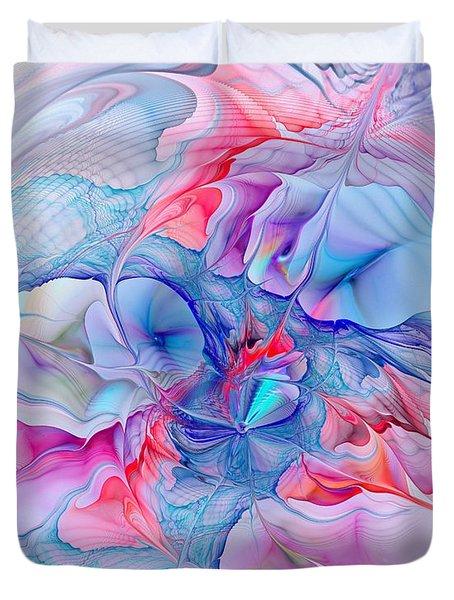Unicorn Dream Duvet Cover by Anastasiya Malakhova