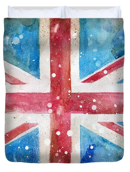 Union Jack Duvet Cover by Sean Parnell