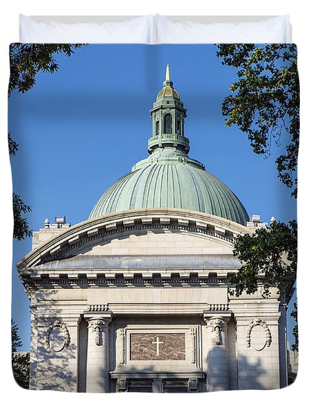 United States Naval Academy Chapel Duvet Cover by John Greim