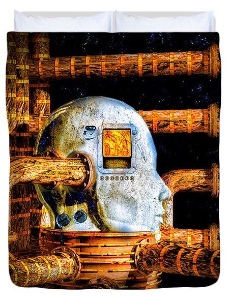 Universal Mind Duvet Cover by Bob Orsillo