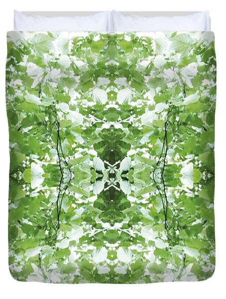 Unnatural 34 Duvet Cover by Giovanni Cafagna