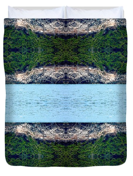 Unnatural 76 Duvet Cover by Giovanni Cafagna