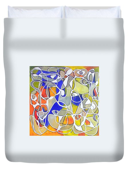 Untitled #30 Duvet Cover by Steven Miller