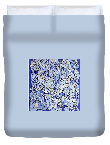 Untitled #32 Duvet Cover by Steven Miller