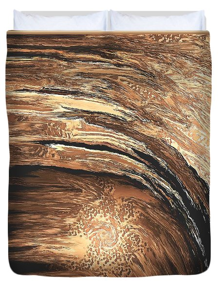 Untitled 356 Duvet Cover by Nedunseralathan R