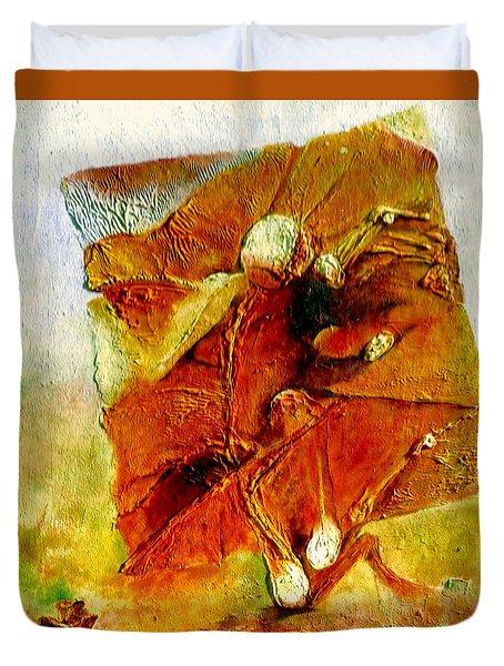 Untitled Duvet Cover by Henryk Gorecki
