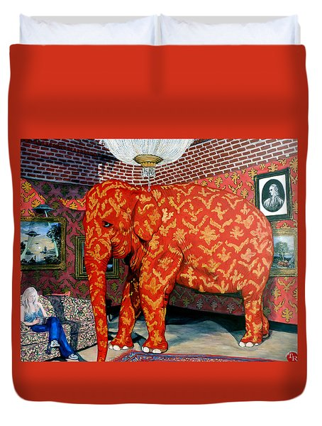 Untitled Duvet Cover by Tom Roderick