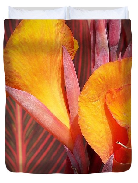 Up Close And Personal Duvet Cover by Chalet Roome-Rigdon