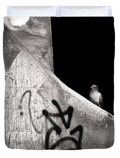 Urban Dweller Duvet Cover by Matthew Blum