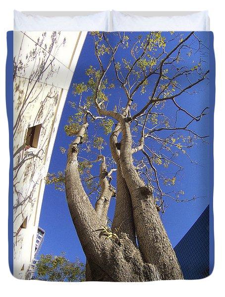 Urban Trees No 1 Duvet Cover by Ben and Raisa Gertsberg